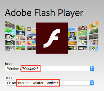 Adobe Flash Player 25 Internet Explorer - ActiveX ...
