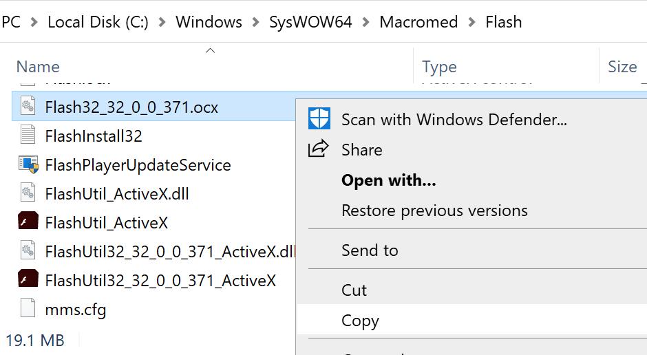 Plik Flash ActiveX